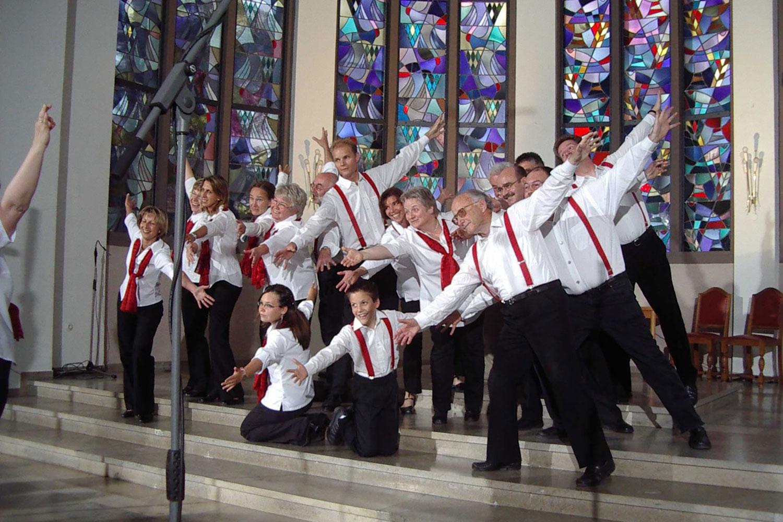 Unser erstes Konzert in der Pauluskirche 2002