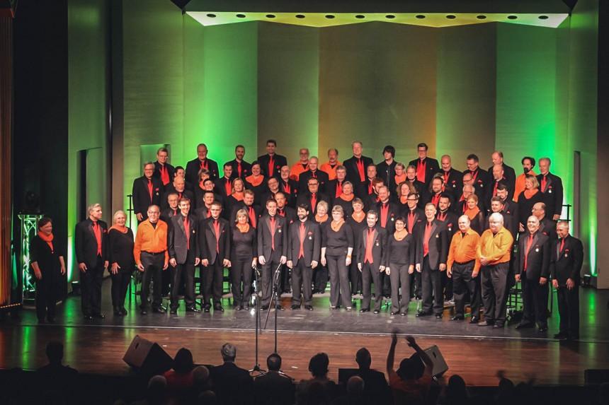 21.04.2015 Konzert mit Toronto Northern Lights in Landau