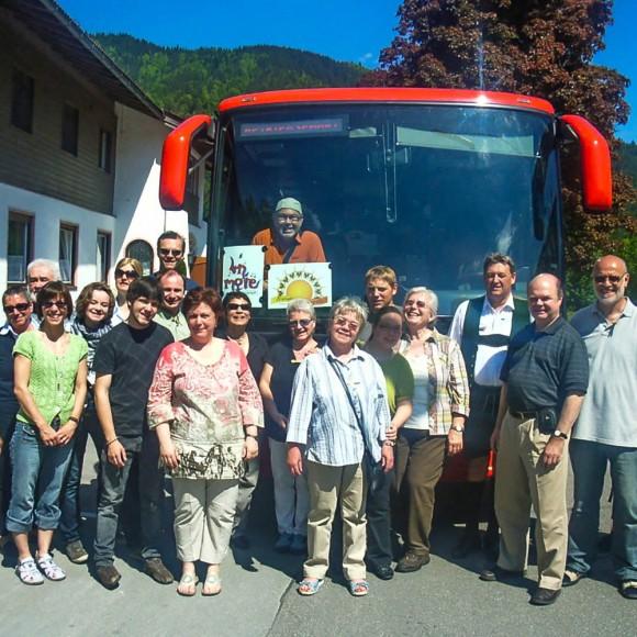 Austausch mit Sunshine Gospels aus Tegernsee