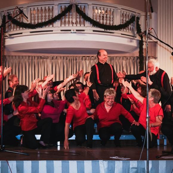 05.06.2010 Konzert in Wildbad Kreuth mit Sunshine Gospels